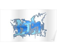 BTS Haruman Graffiti Poster