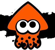 Splatoon Squid (Orange) by RocketClauncher