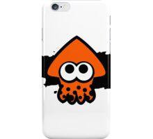 Splatoon Squid (Orange) iPhone Case/Skin
