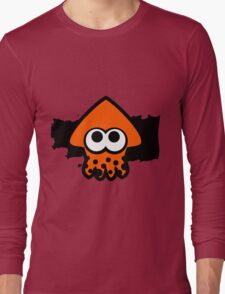 Splatoon Squid (Orange) Long Sleeve T-Shirt