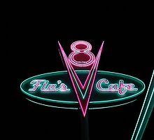 Flo's V8 Cafe by mulancess