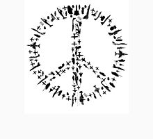 Peace sign Illustration - Guns and Weapon Unisex T-Shirt