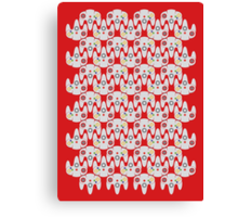 64 Controller Pattern Canvas Print
