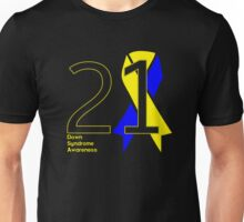 Down Syndrome -- Big 21 Unisex T-Shirt