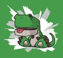 Happy Dino by japu