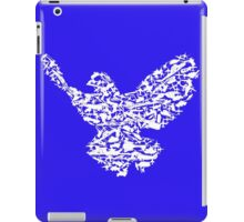 Freedom Pidgeon / Bird - Weapons illustration iPad Case/Skin