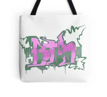 BTS Boy in Luv Graffiti Tote Bag