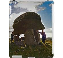 Kilclooney Dolmen, County Donegal iPad Case/Skin