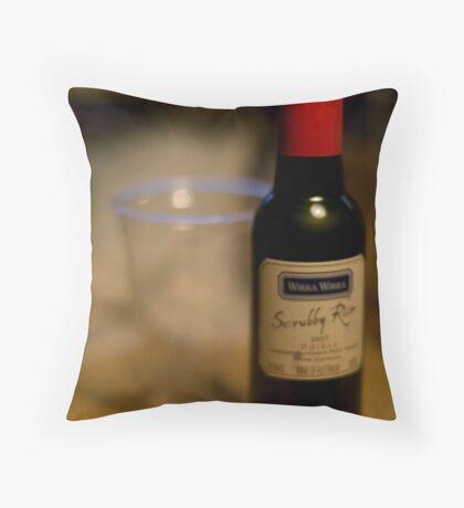 Miniture Wines Throw Pillow