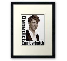 Cumberbatch Framed Print