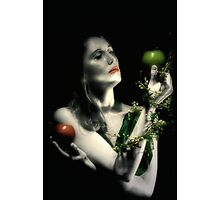 lilth with imortality and knowledge Photographic Print