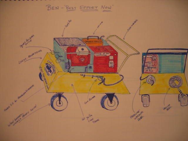 Mobile Car Wash Push Cart Design by Lance Winslow and Car Wash Guys by Lance  Winslow