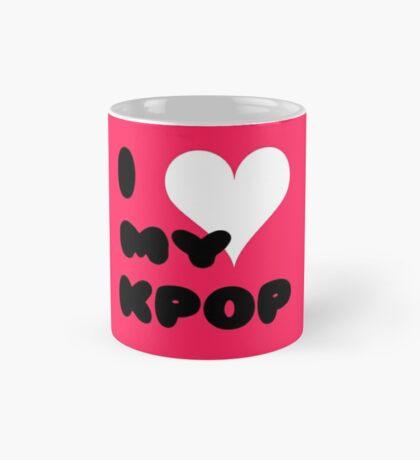 I LOVE MY KPOP - pink Mug