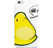 What Does the Peep Say? iPhone Case/Skin