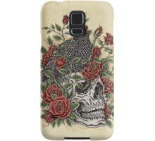 Floral Skull Samsung Galaxy Case/Skin