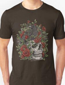 Floral Skull T-Shirt