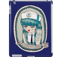 Sailor Girl iPad Case/Skin