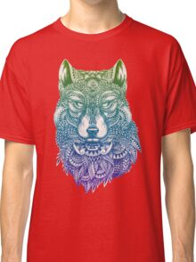 Abstract Wolf Classic T-Shirt