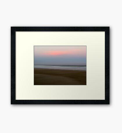 Beach Impressions #2 Framed Print