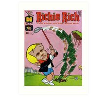 Richie Rich Art Print