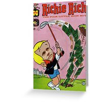 Richie Rich Greeting Card