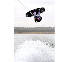Amber Wing (Pro Wakeboarder) Photographic Print