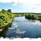 The River Finn watercolour by PhotosByHealy