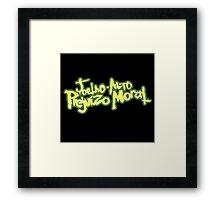 The Portuguese Gremlins Framed Print