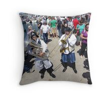 How many bubblers? Throw Pillow