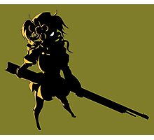 Mami Silhouette  Photographic Print