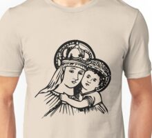 Virgin Mary and Child Unisex T-Shirt