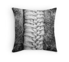 Plaited Tail Throw Pillow