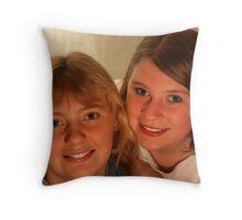 Portrait 3 Throw Pillow