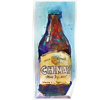 Chimay Triple - Authentic Trappist Beer Belgian Beer Poster
