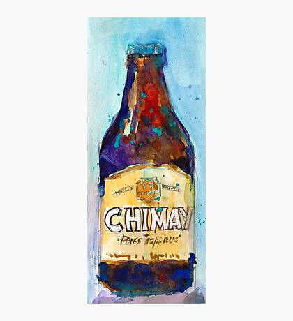 Chimay Triple - Authentic Trappist Beer Belgian Beer Photographic Print