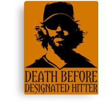 "SF Giants ""Designated Hitter"" Canvas Print"