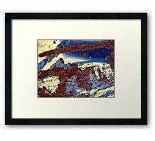 Midnight Moondust Framed Print