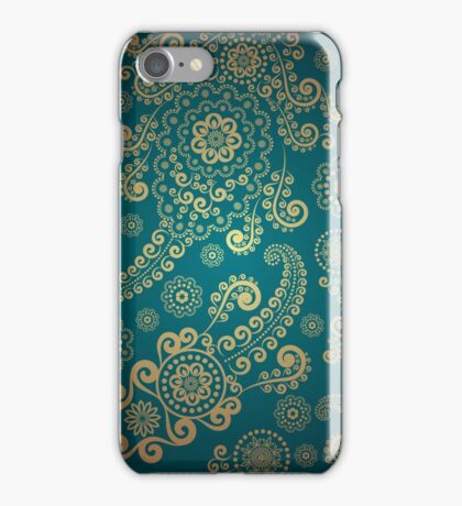 Vintage Euro Pattern iPhone Case/Skin