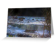 Aysgarth Falls #5 Greeting Card