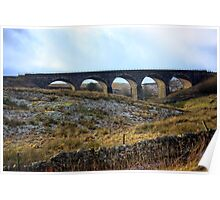 The Railway Viaduct. Poster