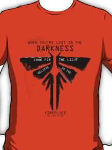 BELIEVE IN THE FIREFLIES T-Shirt