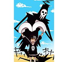 Death and His Boy Photographic Print