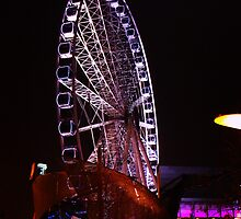 The Big Wheel At Night by TheFunkyMunky