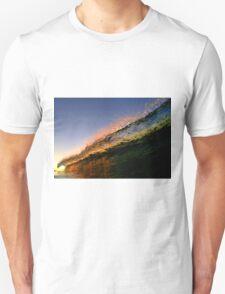 Ocean colours at sunset Unisex T-Shirt
