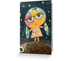 Girl From The Sea Greeting Card