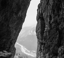 Canyon Creek Ice Cave by MichaelJP
