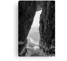 Canyon Creek Ice Cave Canvas Print