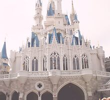 WDW castle by hacobcorreia