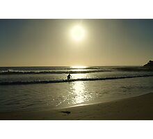 Early morning surfer Photographic Print