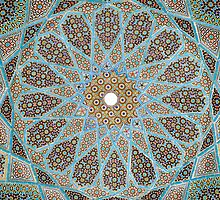 Arabic Mosaic Tile Pattern by YoPattern